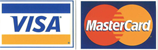 Visa and Master Card Logos